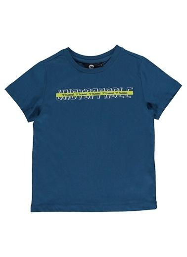Hummel Çocuk Tişört Baste 911125-7871 Yeşil